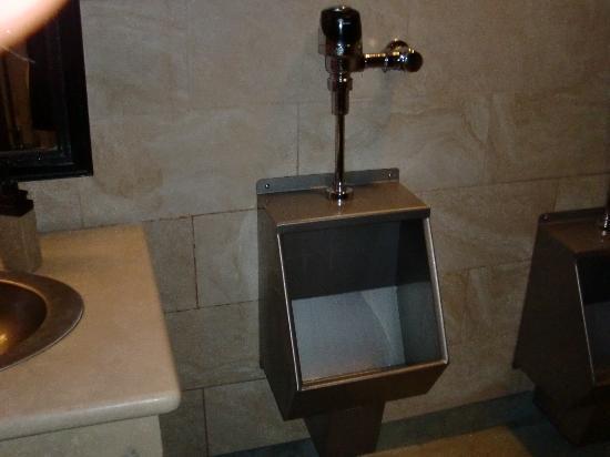 A mini version of the Wrigley Field men's bathroom trough