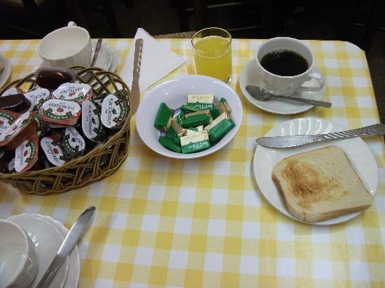 Aquarius Hotel: pequeno almoço