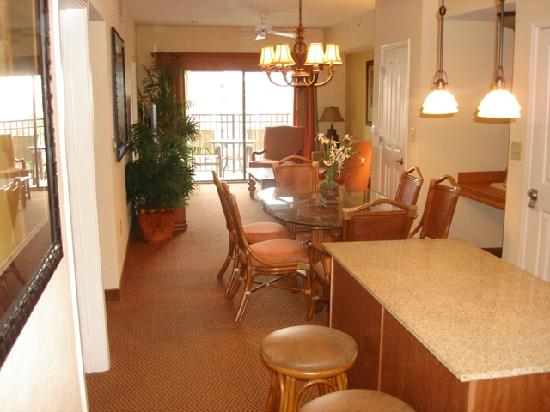 2 bedroom suite view from entrance picture of - Two bedroom suites orlando florida ...