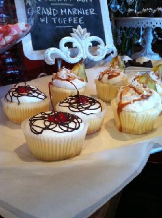 Paramount: Mini cheesecakes