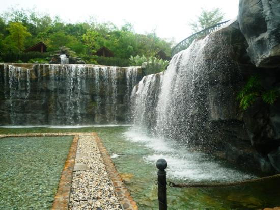 Man made waterfall  Picture of Philea Resort amp; Spa, Ayer Keroh