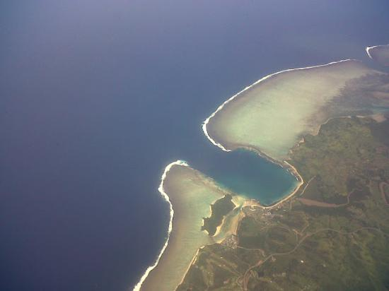 Skydive Fiji: from the sky