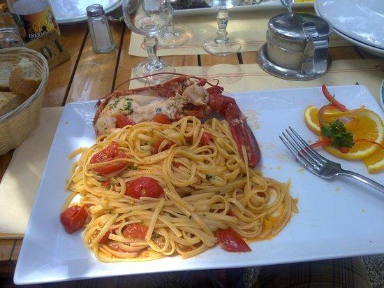 Ramatuelle, Frankrijk: pasta