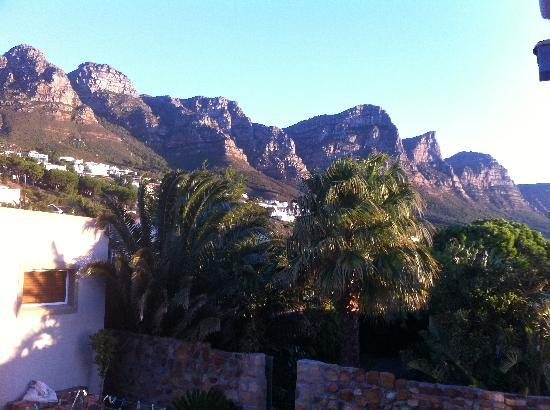 3 On Camps Bay Boutique Hotel: The view of the mountains from room 11
