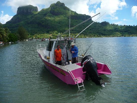Air tahiti nui picture of bora bora fishing paradise for Bora bora fish