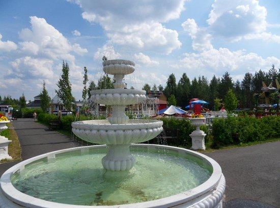Laukaa, ฟินแลนด์: Nokkakivi Amusement Park