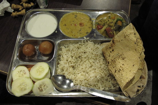 Sunset Cafe : Delicious thali