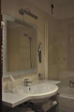 Hotel Villafranca: Il bagno