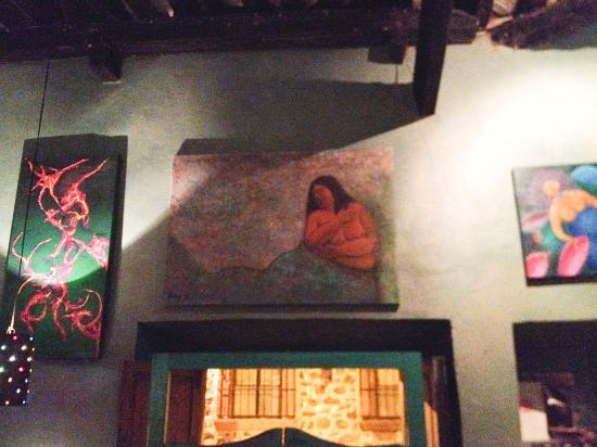 El Manantial : Interior art work