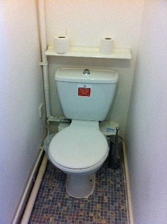Duke Of Buckingham: The loo (moves when you sit!)