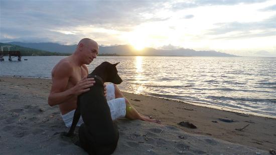 Pantai Mas: lieve hondjes