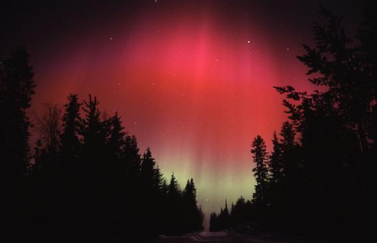 Ruka: Northern Lights in Kuusamo
