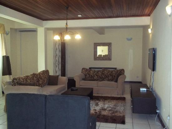 Master bedroom 1 picture of amara suites lagos Living room decoration in nigeria