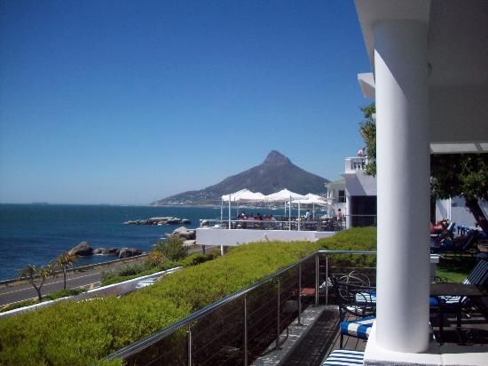 The Twelve Apostles Hotel and Spa: The Lions head from our room