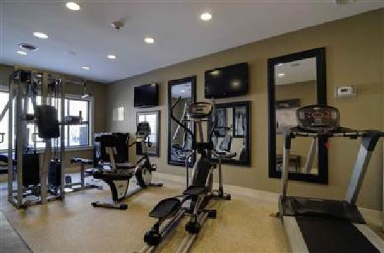 Best Western Plus Antioch Hotel & Suites: All-new fitness center with total gym, treadmill, elliptical, & stationary bike