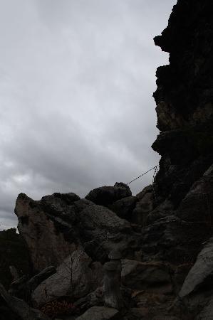 Teufelsmauer: Großvaterfelsen Blankenburg