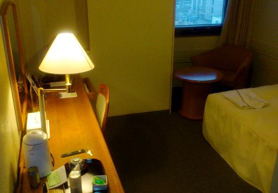 Sendai Garden Palace : ちょっとゆったりの客室