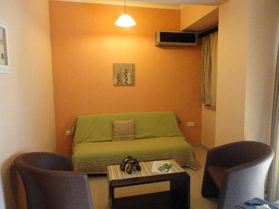 Comfort Hotel: salottino