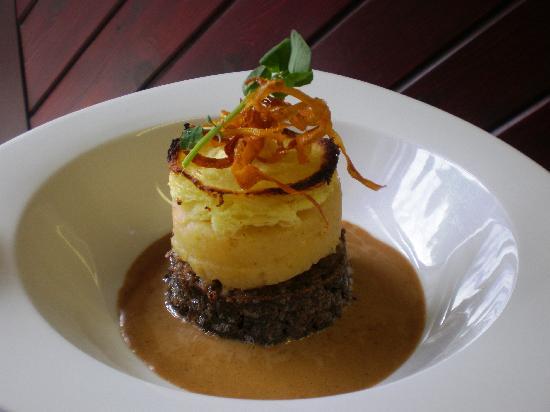 The View Restaurant: Haggis