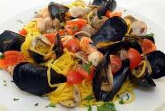 Misano Adriatico, Itália: I tagliolini dell' Hotel Baltic Misano