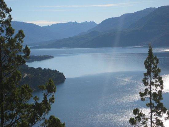 San Martín de los Andes, Argentina: Lago Lacar desde el Circuito Arrayan