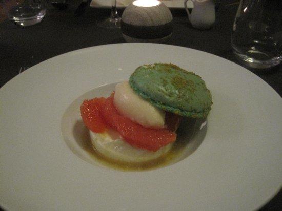 Condette, Frankrike: macaron aux agrumes