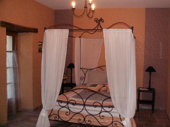 Le Moulin des Foulons : la chambre