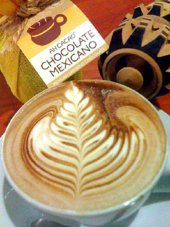 Ah Cacao Chocolate Cafe : Hot Ah Cacao chocolate