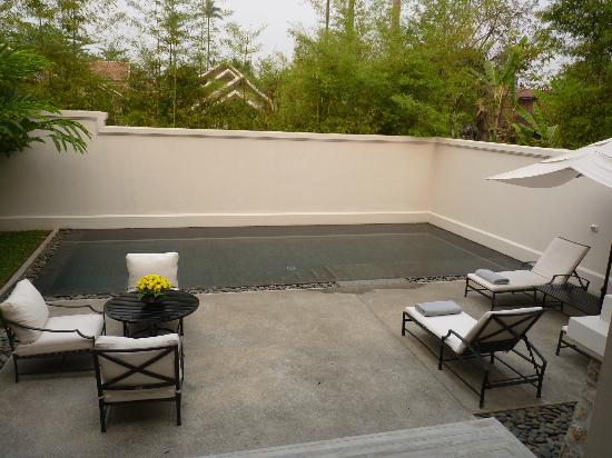 Amantaka suite 25: garden and pool