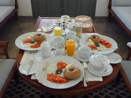 Hotel Amantaka: yummy breakfast