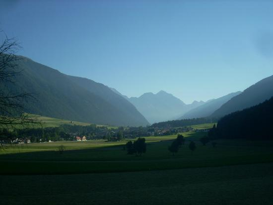 Un Immagine Della Splendida Valle Di Anterselva Alle Prime Luci Del
