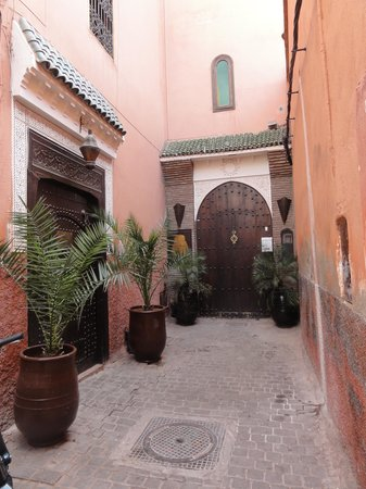 Riad Calista: Eingang