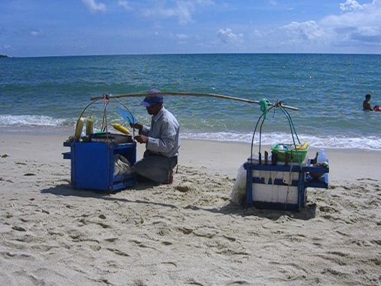 Ban Sua Samui: Strandversorgung