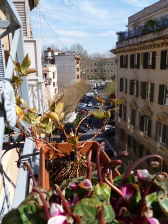 Ripa145 B&B: la vista dal balcone