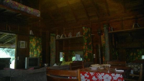 Marks Place Moorea: Intérieur du bungalow