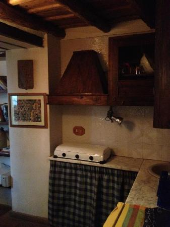B&B Il Mezzanino del Gattopardo: cucina