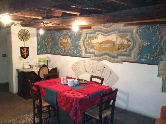 B&B Il Mezzanino del Gattopardo: sala colazione