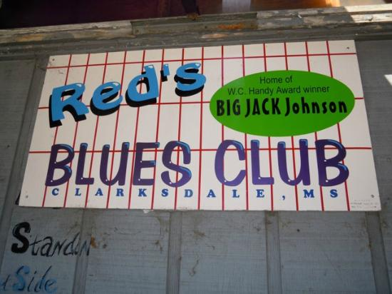 Clarksdale, MS: Red's Blues Club