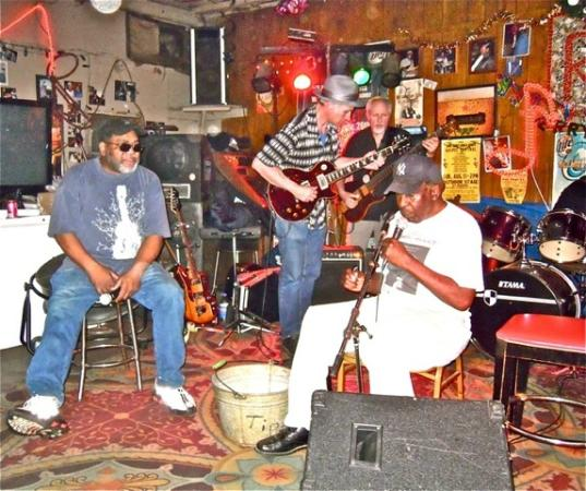Clarksdale, MS : Red Paden, the Cornlickers AND Cadillac John: RED's