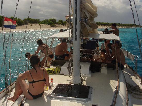 Compass Sailing: klein bonaire