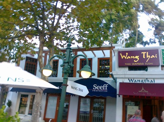 Eingang zum Wang Thai Restaurant