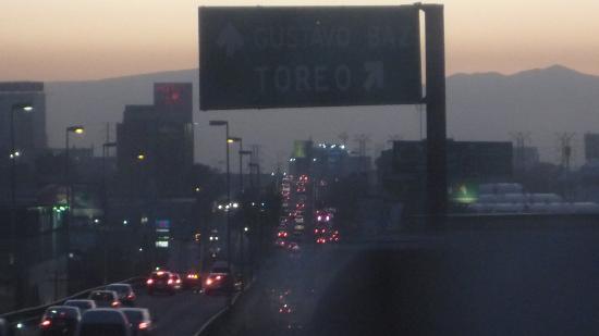 Mision Toreo Centro de Convenciones: From my window