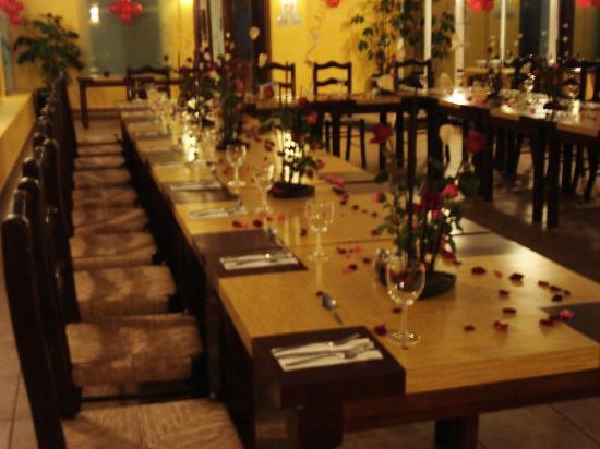 La salle manger du ritz mexico lors d 39 un souper pour la - La salle a manger ...
