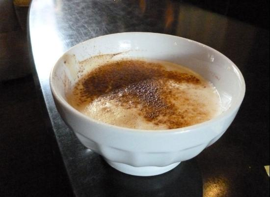 Hotel Le Germain Quebec: Cappuccino--the best!