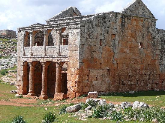Dead City of Serjilla : Casa a 2 piani