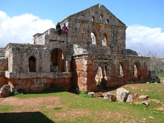 Dead City of Serjilla : Casa 1