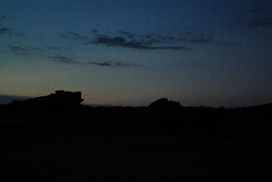 Parque Provincial Ischigualasto: horizon au lever du jour