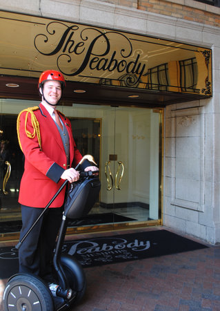 Segway of Memphis Tours: The Peabody Memphis Duckmaster on a Segway PT!