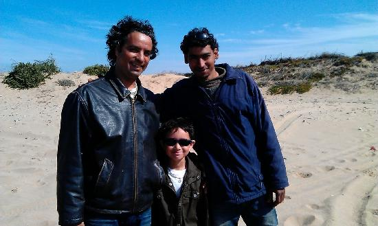 Rima Quad: Redwan, Junior and Khaled