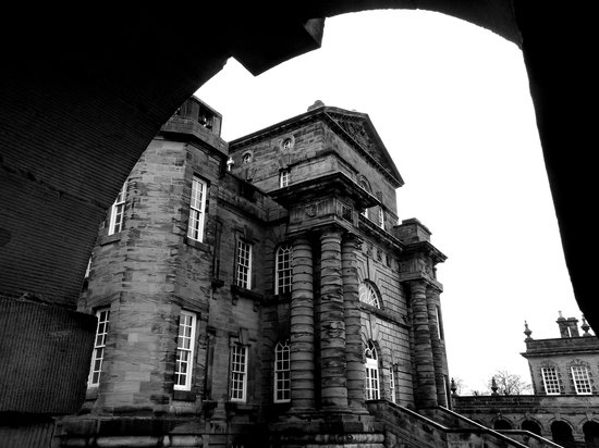 Seaton Delaval Hall: Front of the hall
